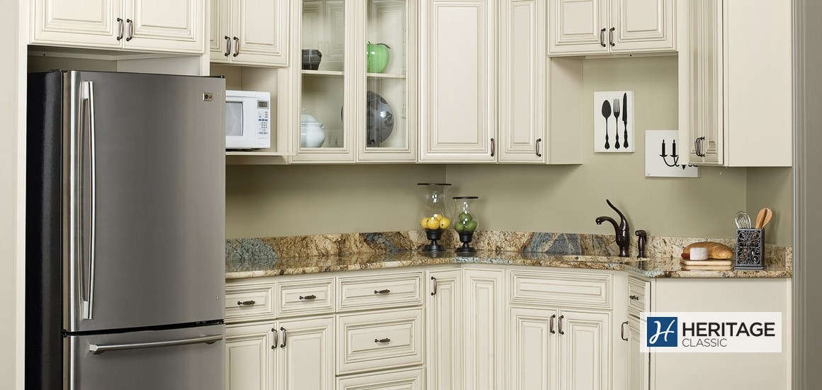 Madison White Kitchen Cabinets