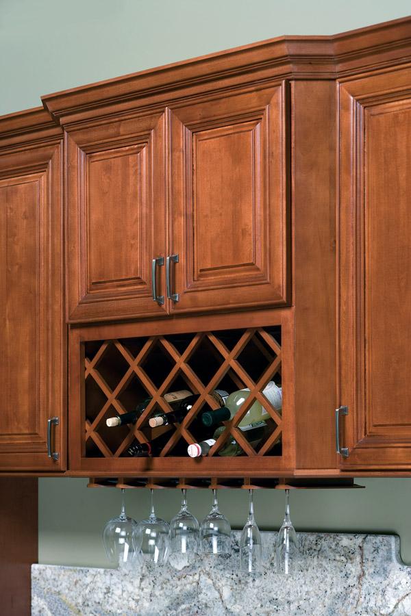 Wine Rack Amp Stem Glass Holder Heritage Classic Cabinets